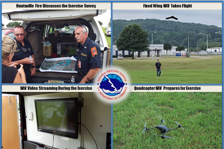 UAS for Rapid Response Initiatives Gain Momentum in North Alabama: Benefits to NWS Offices