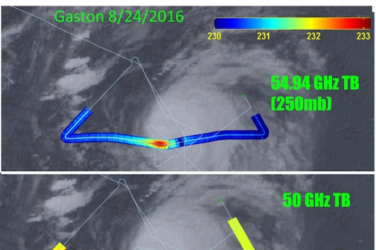 SHOUT 2016 Hurricane Rapid Response Launches 2nd Science Flight Over GASTON & AL-91